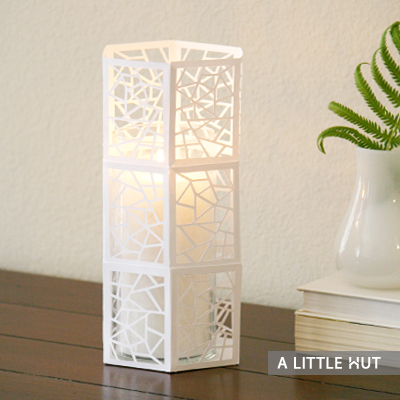 Hexagon candle cover