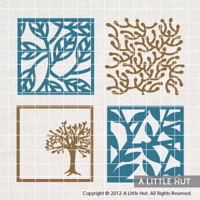 Trees - square