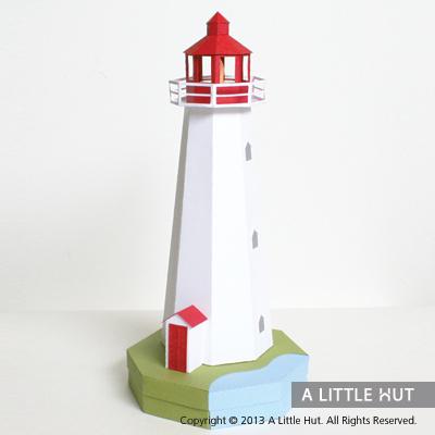 Lighthouse gift box/ tea light holder