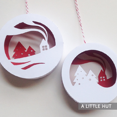 Winter cabin gift set