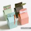 Slide lock boxes