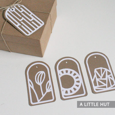 Arches gift tags