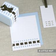 Entwine stationery set