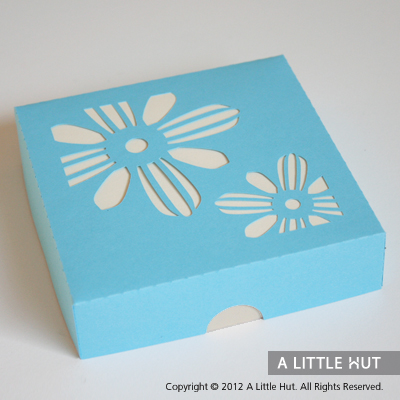 Flowers gift card set
