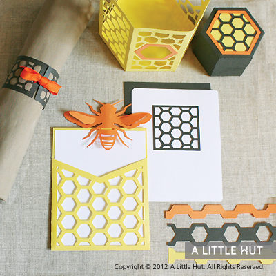 Sweet Honeycomb party set