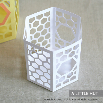Sweet Honeycomb party set