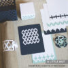 Delicate lattice party set