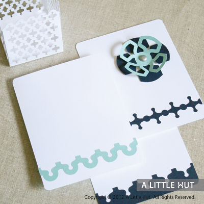 Delicate lattice party set