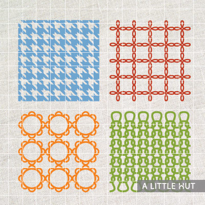 Four lattice designs