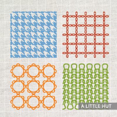 Four lattice designs