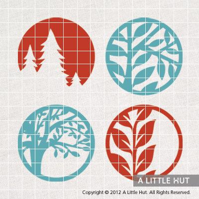 Trees - circle