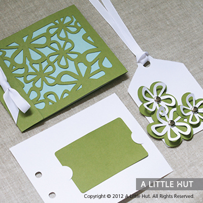 Blooming gift card set