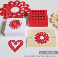 Hearts gift set