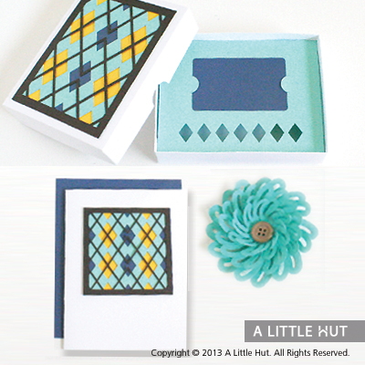 Argyle gift card set