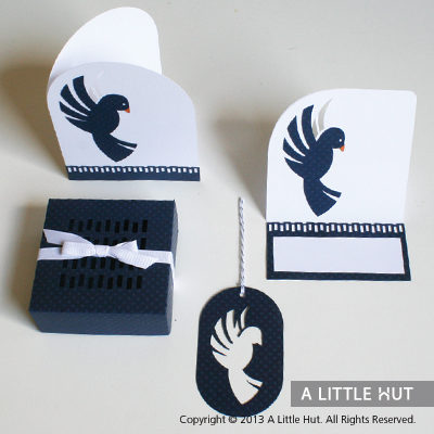 Feather tribe gift set