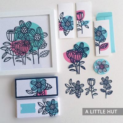 Lush garden gift set