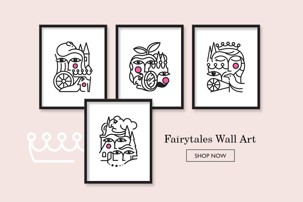 A Little Hut - Fairytales Wall Art