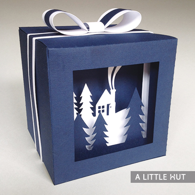 In the woods shadow gift box