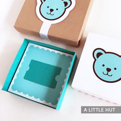 baby bear gift set