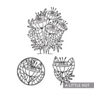 a-little-hut-flower-quartet