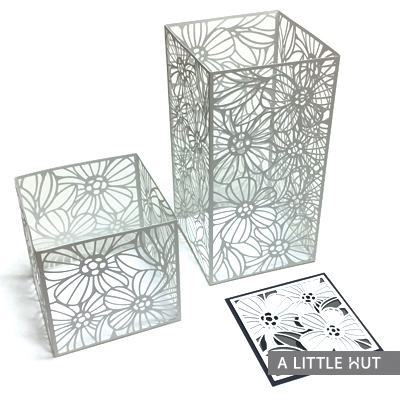 Brilliance candle and card set