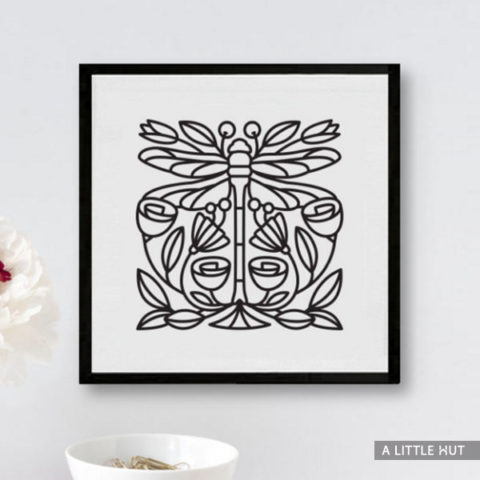 Dragonfly SVG file by Patricia Zapata for A Little Hut