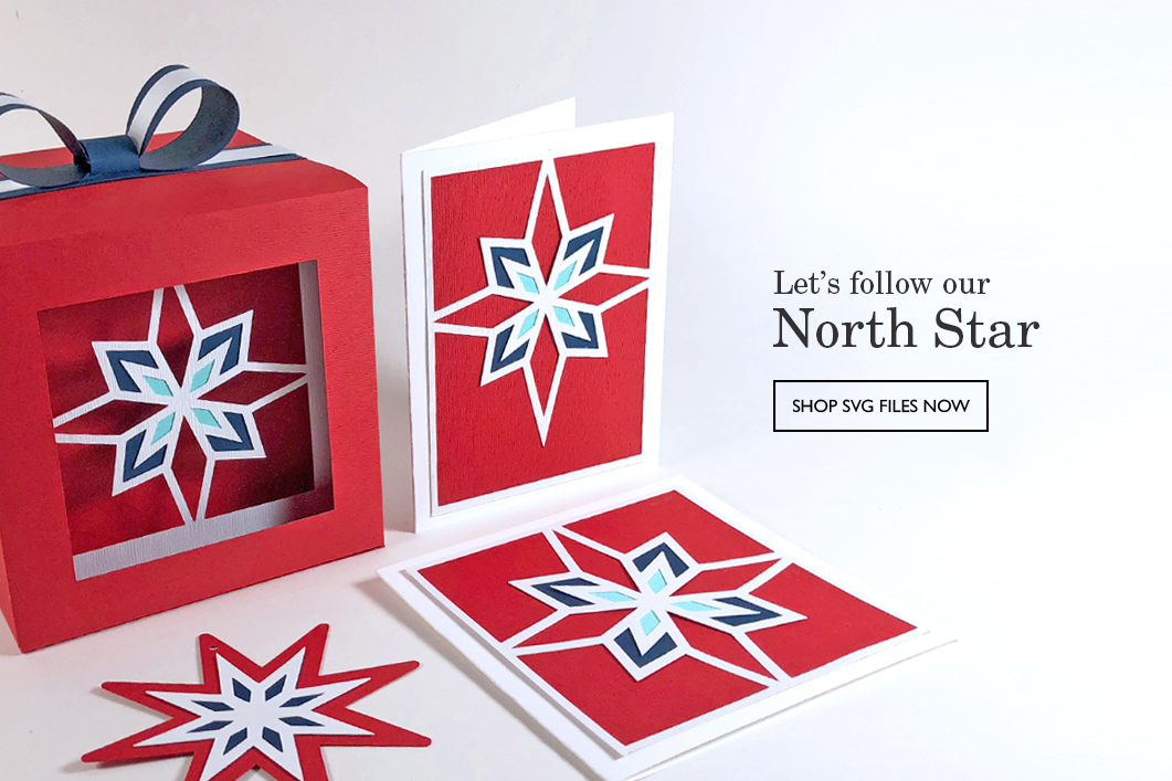 North Star Shadow Gift Boxes by Patricia Zapata for A Little Hut