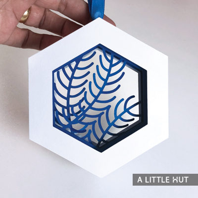 Branches Ornament by Patricia Zapata for A Little Hut.