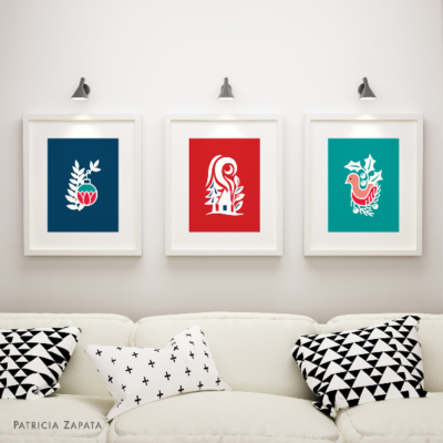 A Little Hut SVG files - wall art