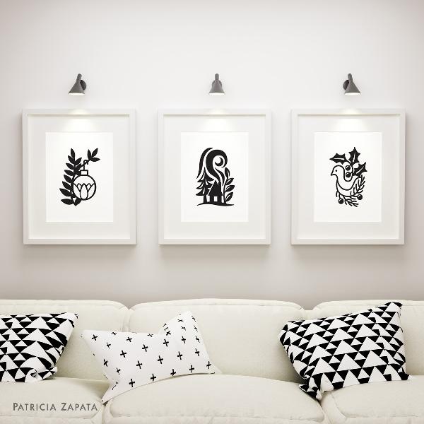 A Little Hut SVG files - wall art