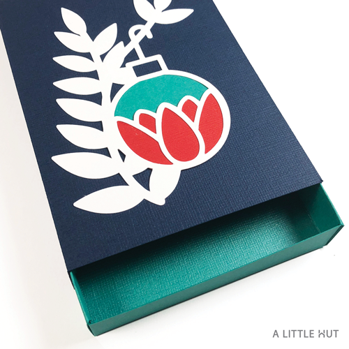 A Little Hut SVG files - Petals ornament matchbox